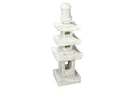 Lanterne Pagode en granite 70 cm