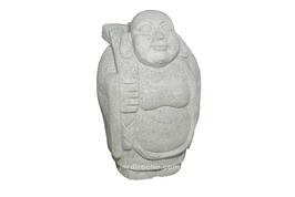 Bouddha joyeux en granite 90 cm