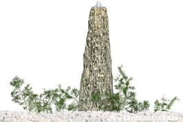 Fontaine en granite colonne 60 cm