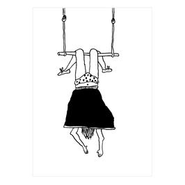 "Postkarte Helen B ""Trapeze Girl"""