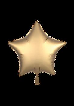 Folienballon Stern Gold Matt