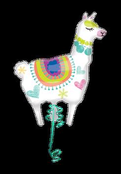 Folienballon Lama