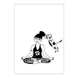Poster Helen B Trapeze Girl