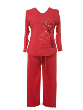 NewLook dames pyjama  poes FUCHSIA