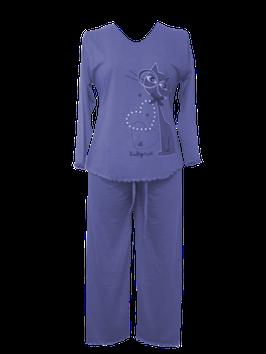 NewLook dames pyjama poes BLAUW