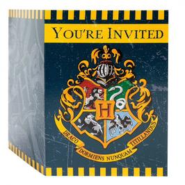 Pack Cartes Invitation Harry Potter