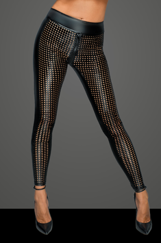 NHF233 LASERCUT LEGGINGS