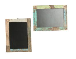 Pizarra marcos madera