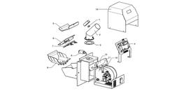 Atmos externer Schneckenmotor SPG für alle Schnecken bis 3 Meter
