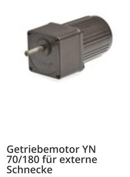 Scotte NBE BMHT OPOP Externer Schneckenmotor