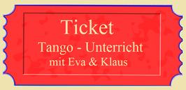 Tango-Workshops mit Eva & Klaus