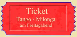 """Eintritt """"Tango-Milonga"""""""