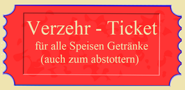 """Verzehr - Ticket"""