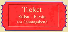 "Eintritt ""Salsa-Fiesta"""