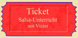 """""""Salsa-Unterricht"""" mit Victor"""