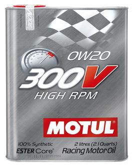 MOTUL 300V 0W20  (FORMATO 2 LITROS)