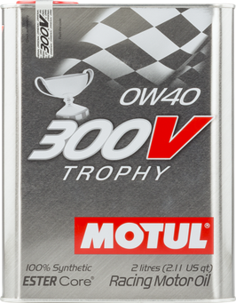 MOTUL 300V 0W40  (FORMATO 2 LITROS)