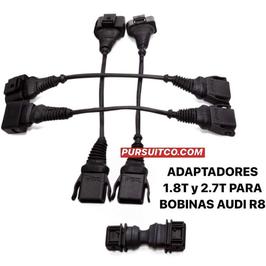 KIT DE CABLES DE CONVERSION A BOBINAS DE TFSI PARA 1.8T Y 2.7T (COMPROBAR CODIGOS DE MOTOR)