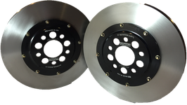 "BACK IN STOCK!  2005-2014 Mustang Lightweight Front Rotors for 14"" Brembo brakes"