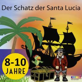 Piraten-Schatzsuche (8-10 Jahre)