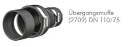 Übergangsmuffe (2709)