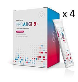 4 x ProArgi 9 plus 295 g