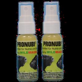 Doppelpack 2x PRONUBI® Speziallockmittel 30ml für Nutria und Bisam