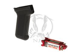 Ares High Torque Slim Motor + AK Slim Pistol Grip