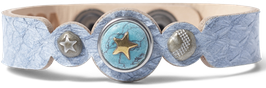 noosa petite | venus bracelet salmon | light blue | WPCS-9090-99-S