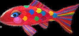 GoldFisch, l  ca 57 cm, Pappmache
