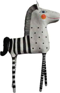 Zebra 46, Pappmache