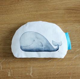 Wal – Mini-Vorlesekissen