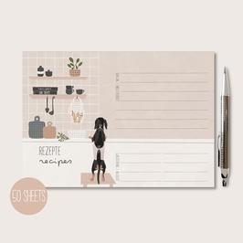 Notepad - Recipes 50 sheets