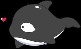 Acrylic Charm - Orca