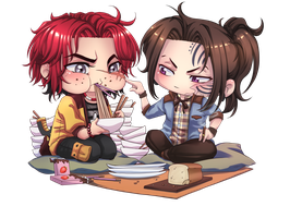 Acrylic Charm - Pace and Shane
