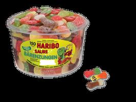 Haribo Saure Bärenzungen  Dose à 150 Stück