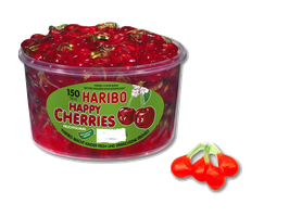 Haribo Happy Cherries Dose à 150 Stück