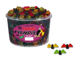 Haribo Vampis Dose à 150 Stück