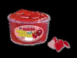 Haribo Liebes Herzen Dose à 150 Stück