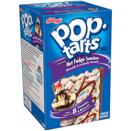Kelloggs Poptarts Frosted Hot Fudge Sundae