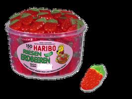Haribo Riesen Erdbeeren  Dose à 150 Stück