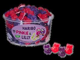 Haribo Pinkie & Lilly  Dose à 150 Stück