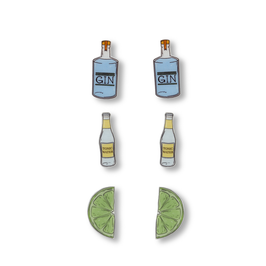 Gin, Tonic & Lime Stud Pack