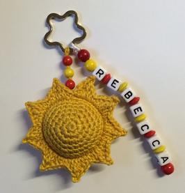 Schlüsselanhänger Sonne