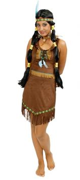 Kostüm Indianerin Prairieblume