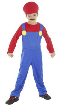 Kinderkostüm Mario