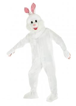 Kostüm Hase weiss Mascot