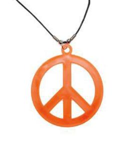 Peace - Kette orange