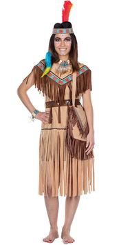 Kostüm Indianerin Cherokee