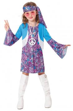 Kinderkostüm Hippiegirl